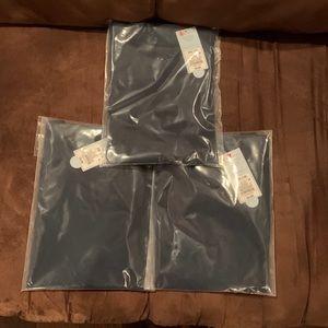 Boys' 3 Pack Long Sleeve T-Shirts Navy Blue